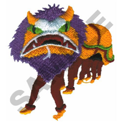 DRAGON DANCERS embroidery design