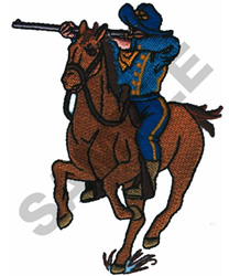 CALVARY SOLDIER embroidery design