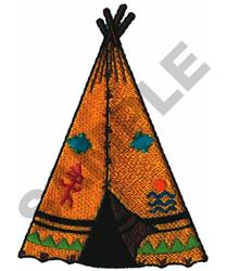TEEPEE embroidery design