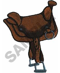 SADDLE embroidery design