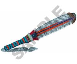 PEYOTE FLAT FAN embroidery design