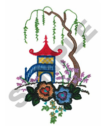 ASIAN MOTIF embroidery design