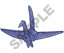 ORIGAMI BIRD embroidery design