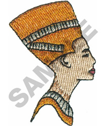 EGYPTIAN WOMAN embroidery design
