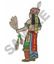 CEREMONIAL DANCER embroidery design