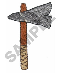 TOMAHAWK embroidery design