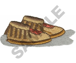 MOCCASINS embroidery design