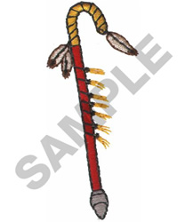 COUP STICK embroidery design