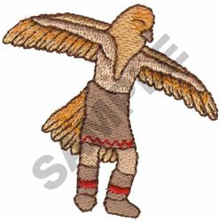 EAGLE DANCER embroidery design