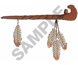 CEREMONIAL PIPE embroidery design
