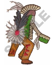 POW WOW DANCER embroidery design