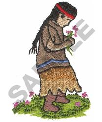 SQUAW embroidery design