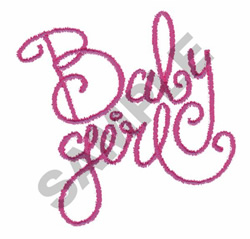 BABY CHIC embroidery design