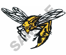 YELLOW JACKET embroidery design