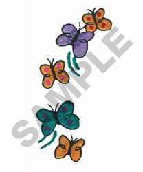FAIRY BUTTERFLIES embroidery design