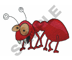CRAZY ANT embroidery design