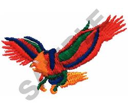 GRAPHIC EAGLE embroidery design