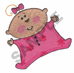 BABY GIRL embroidery design