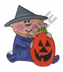 HALOWEEN BABY embroidery design