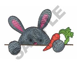 PEEK A BOO RABBIT embroidery design