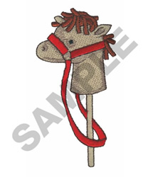 HEAD OF A PONY embroidery design