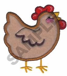 PLUSH PALS CHICKEN embroidery design