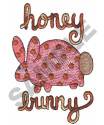 HONEY BUNNY embroidery design