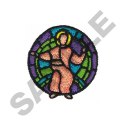 STAINED GLASS embroidery design