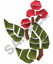 FLOWER MOSAIC embroidery design
