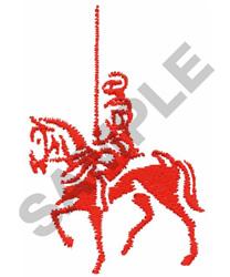 KNIGHT ON HORSEBACK embroidery design