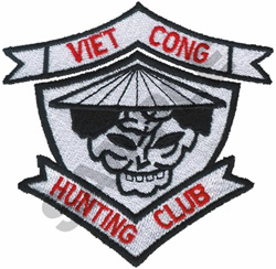 VIET CONG HUNTING CLUB embroidery design
