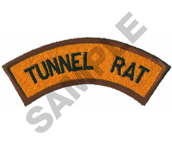 TUNNEL RAT embroidery design