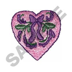 VICTORIAN HEART embroidery design