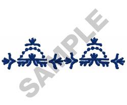 FASHION DESIGN BORDER embroidery design