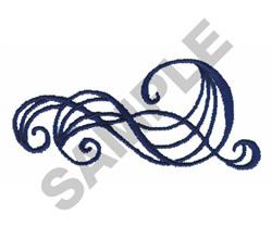 SCROLL BORDER embroidery design