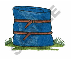 SLEEPING BAG embroidery design