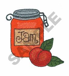 JAM embroidery design