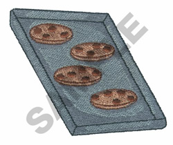 COOKIE SHEET embroidery design