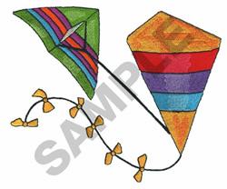 KITES embroidery design