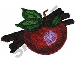 APPLE AND CINNAMON embroidery design