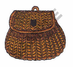 FISHING BASKET embroidery design