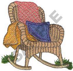 OUTDOOR ROCKER embroidery design
