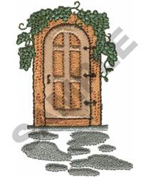 GARDEN DOOR embroidery design