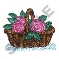 VICTORIAN FLOWERS embroidery design