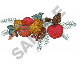 FRUIT SWAG embroidery design