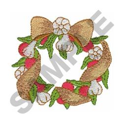 GARLIC WREATH embroidery design