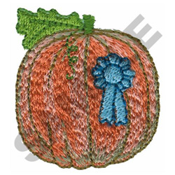 PRIZED PUMPKIN embroidery design