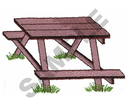 BENCH embroidery design