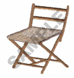FOLDING CHAIR embroidery design