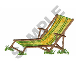LOUNGE CHAIR embroidery design